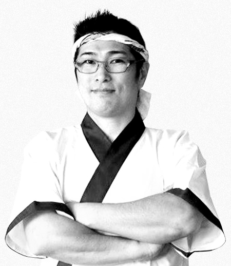 Akira Kugue - head chef of Gion Japanese Restaurant