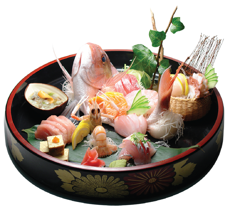 Gion Restaurant Special Sashimi and Sushi Platter